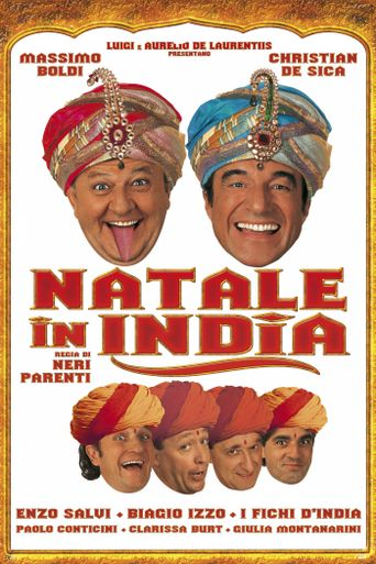 Natale in India Poster