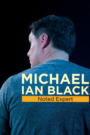 Michael Ian Black: Noted Expert Poster