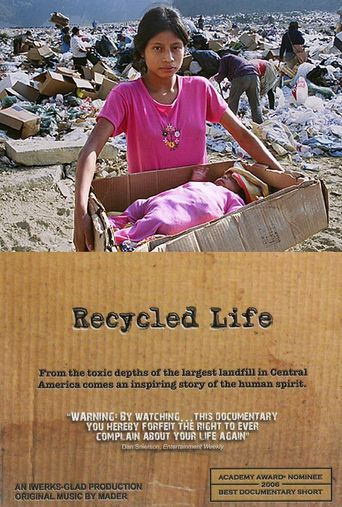 Recycled Life Poster