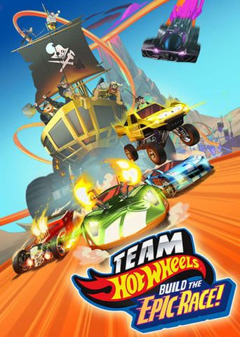 Team Hot Wheels: Build the Epic Race Poster