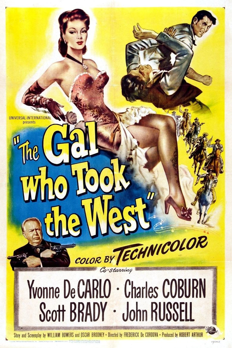 The Gal Who Took the West Poster