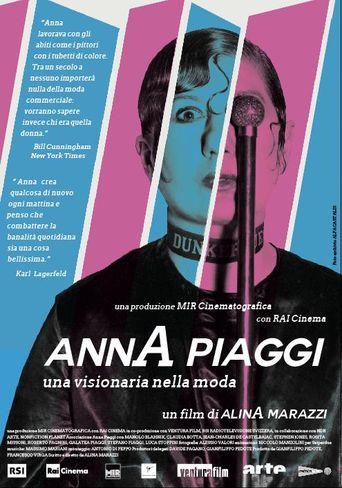 Anna Piaggi: Fashion Visionary Poster