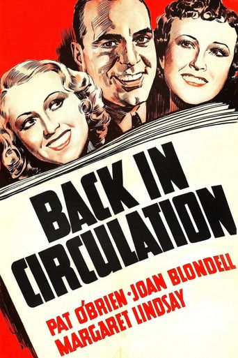 Back in Circulation Poster