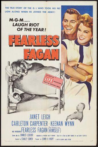 Fearless Fagan Poster