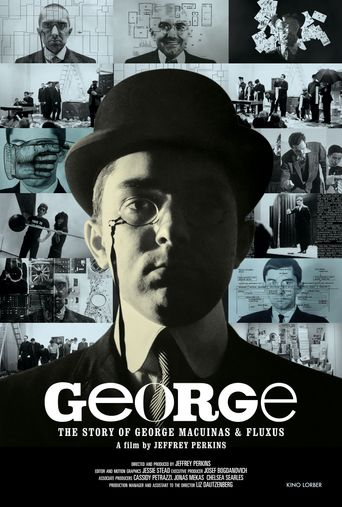 George: The Story of George Maciunas and Fluxus Poster