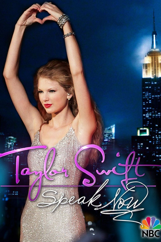 Taylor Swift: Speak Now Poster