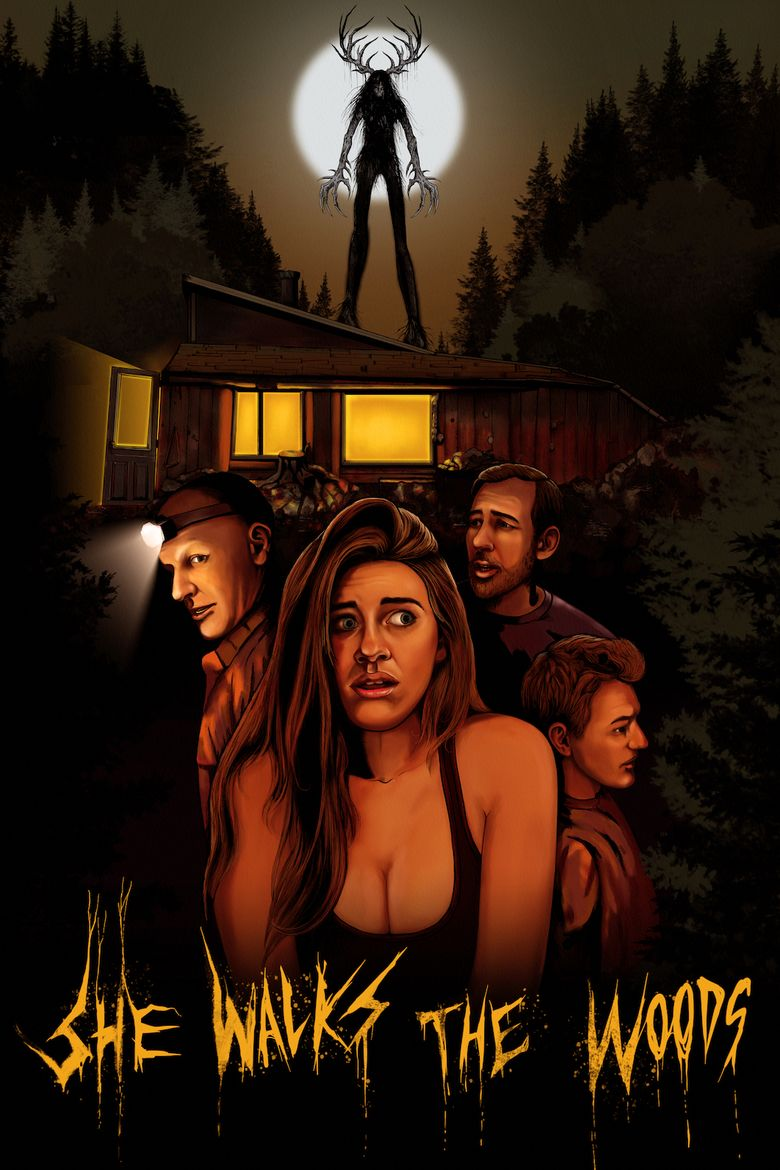 She Walks the Woods Poster