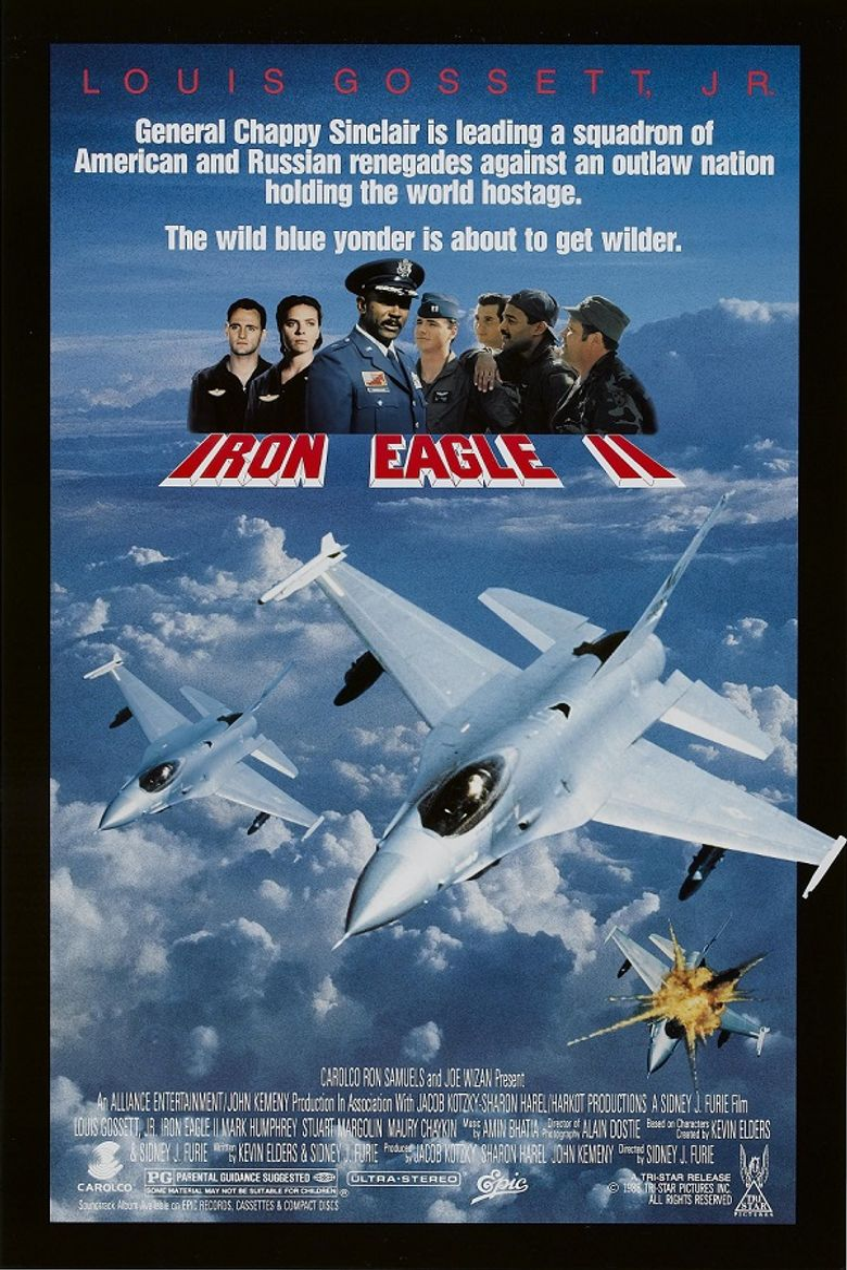 Iron Eagle II Poster