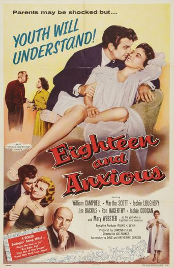 Eighteen and Anxious Poster