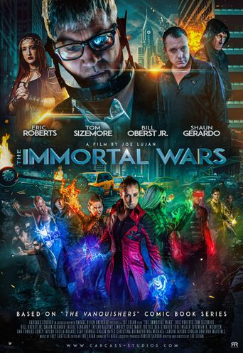 The Immortal Wars Poster