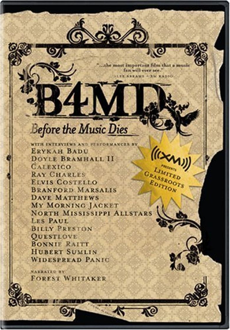 Before the Music Dies Poster