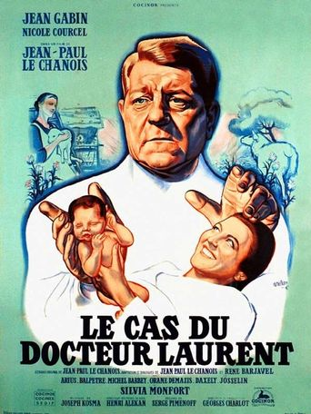 The Case of Dr. Laurent Poster