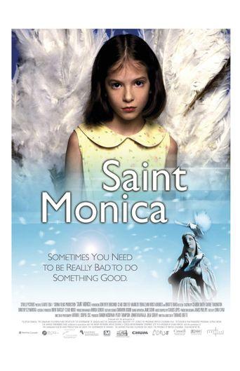 Saint Monica Poster
