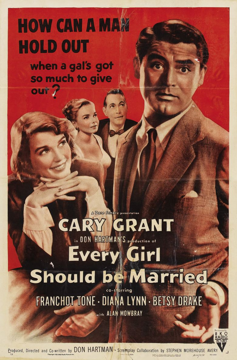 Every Girl Should Be Married Poster