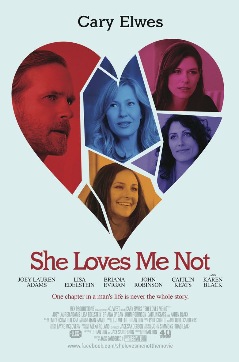 She Loves Me Not Poster