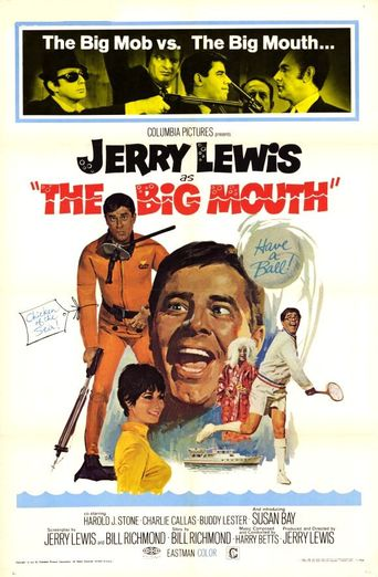 The Big Mouth Poster