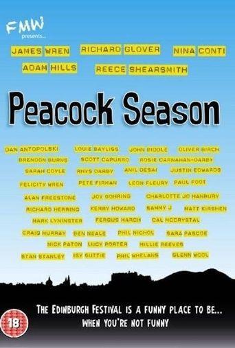Peacock Season Poster