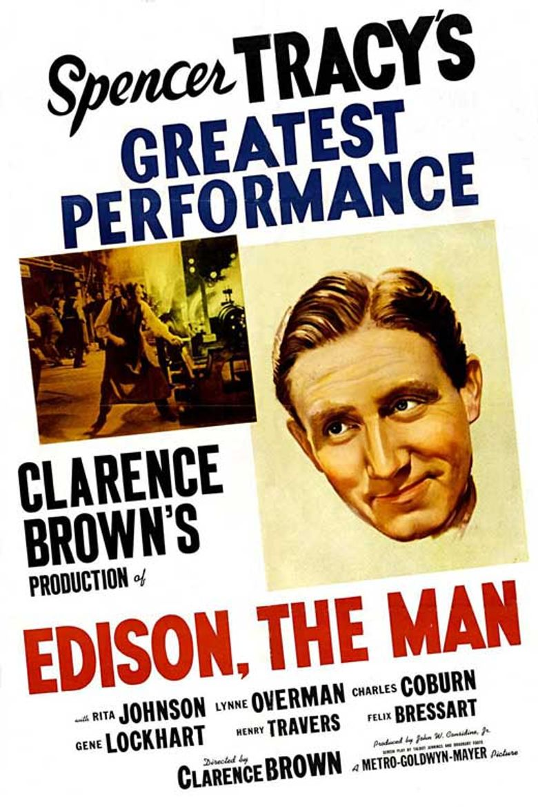 Edison, the Man Poster