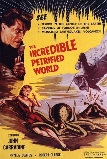 The Incredible Petrified World Poster