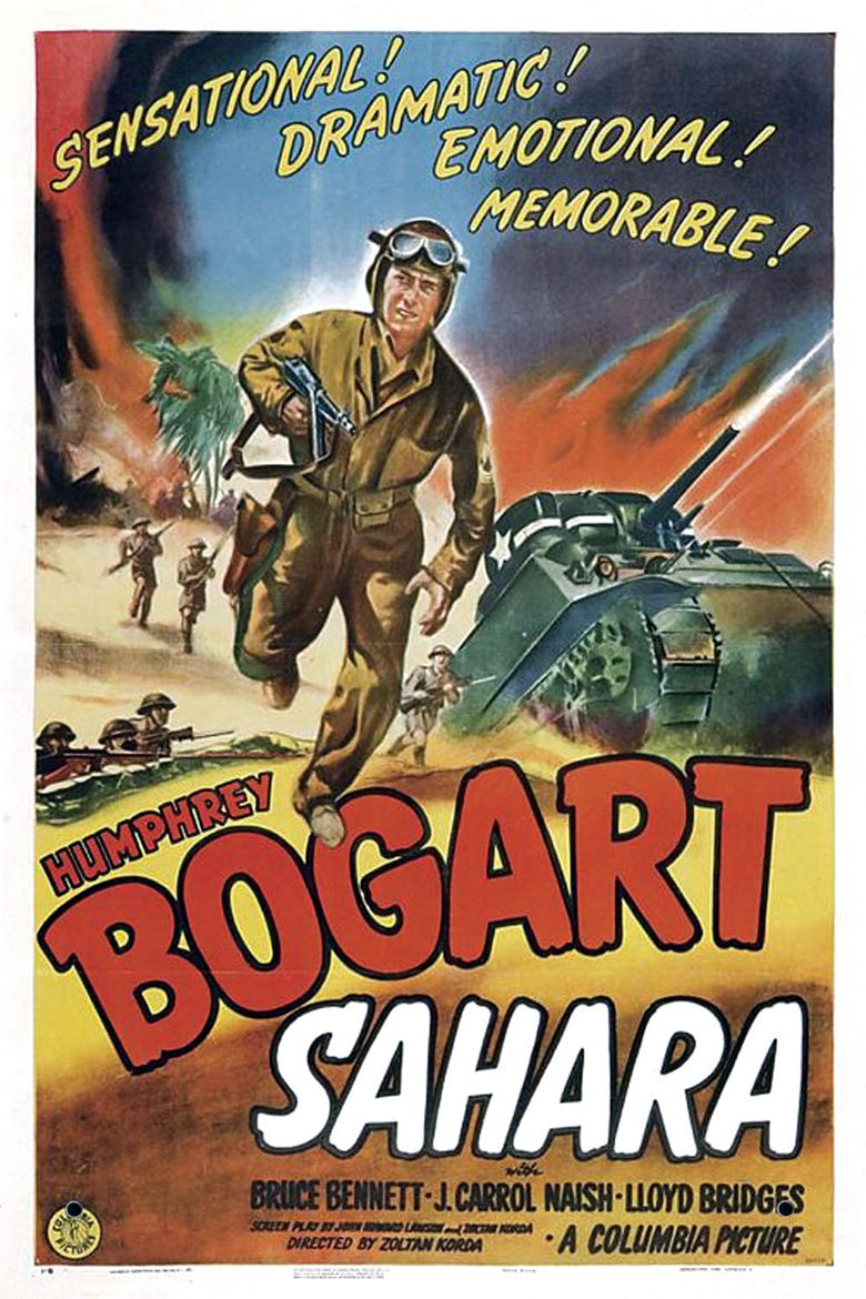 Sahara (1945) - Where to Watch It Streaming Online | Reelgood