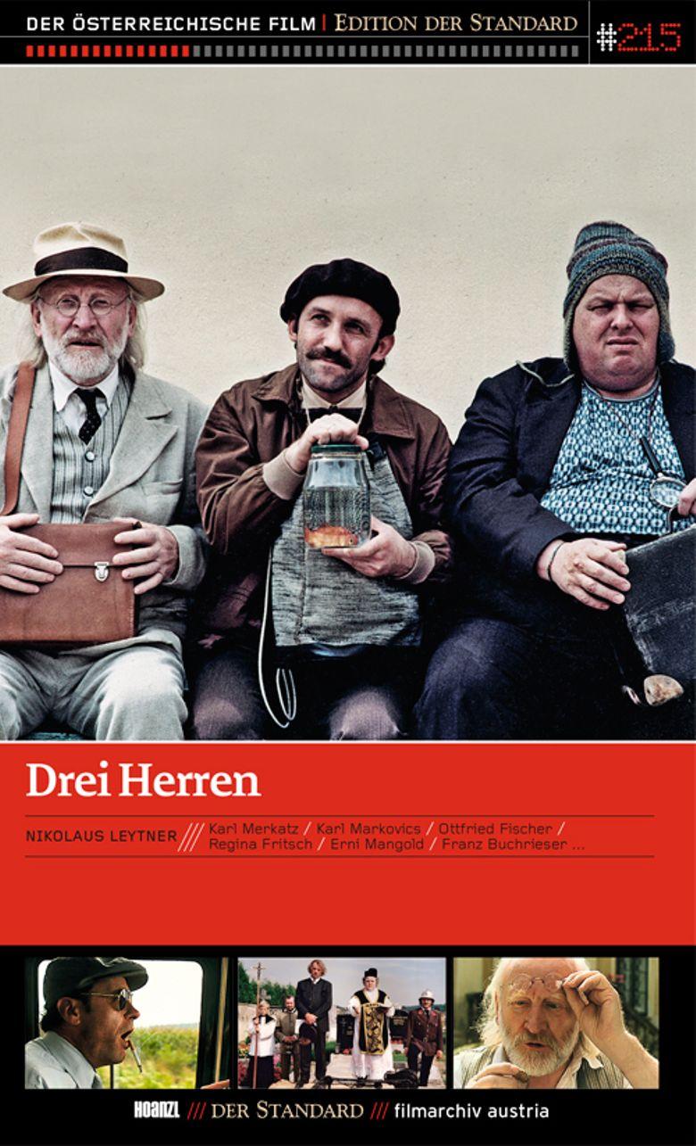 Drei Herren Poster