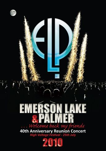 Emerson, Lake & Palmer - 40th Anniversary Reunion Concert Poster