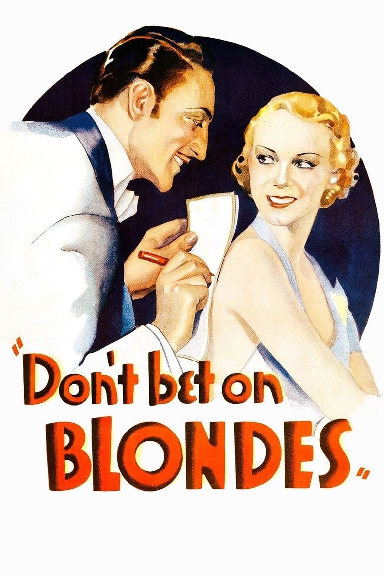 Don't Bet on Blondes Poster