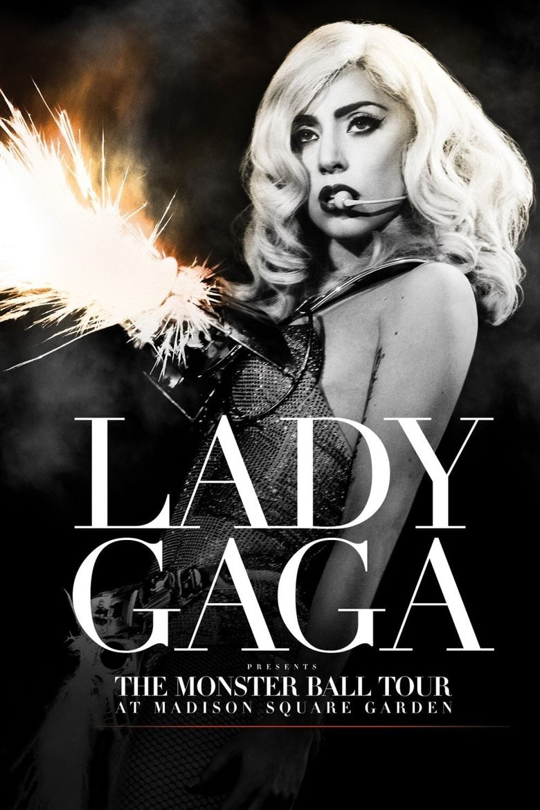 Lady Gaga Presents: The Monster Ball Tour at Madison Square Garden Poster