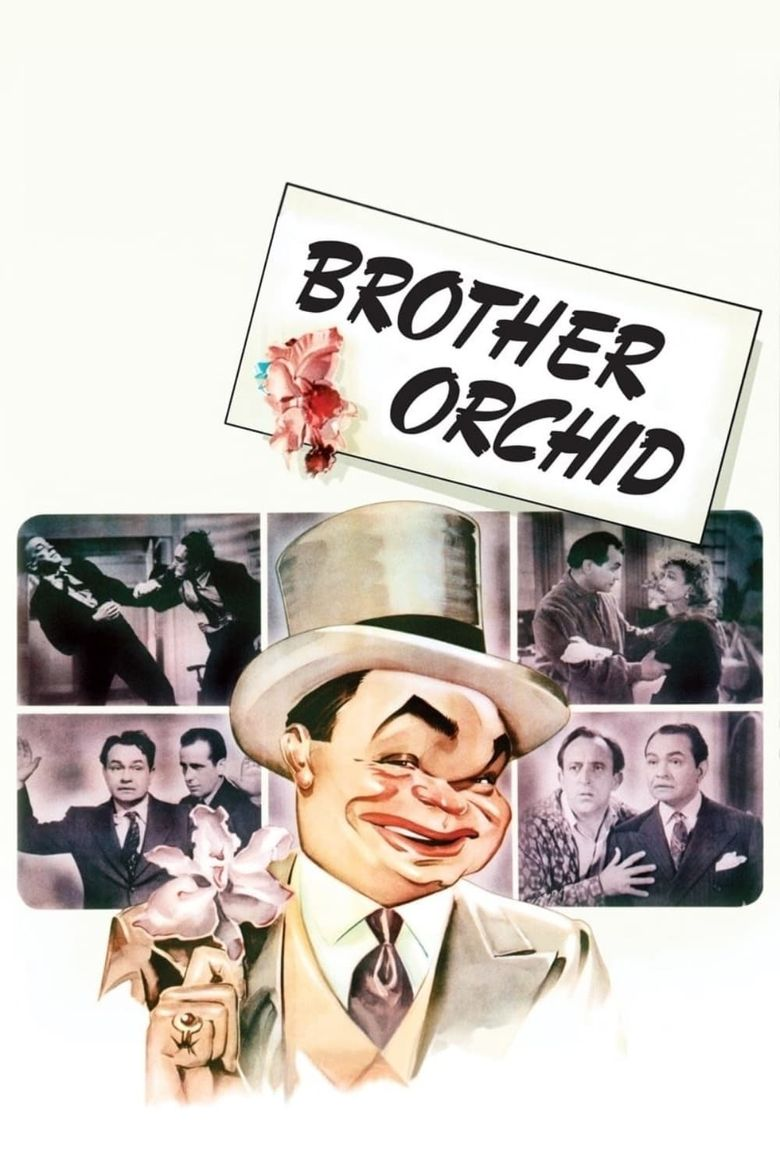Brother Orchid Poster