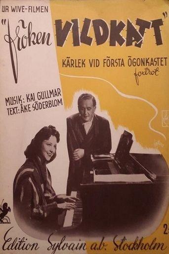 Fröken Vildkatt Poster