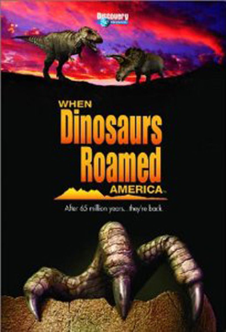 When Dinosaurs Roamed America Poster