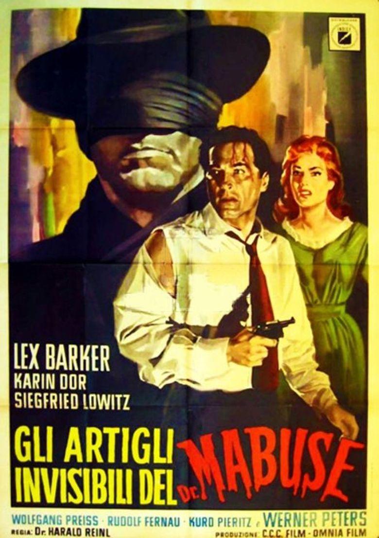 Die unsichtbaren Krallen des Dr. Mabuse Poster