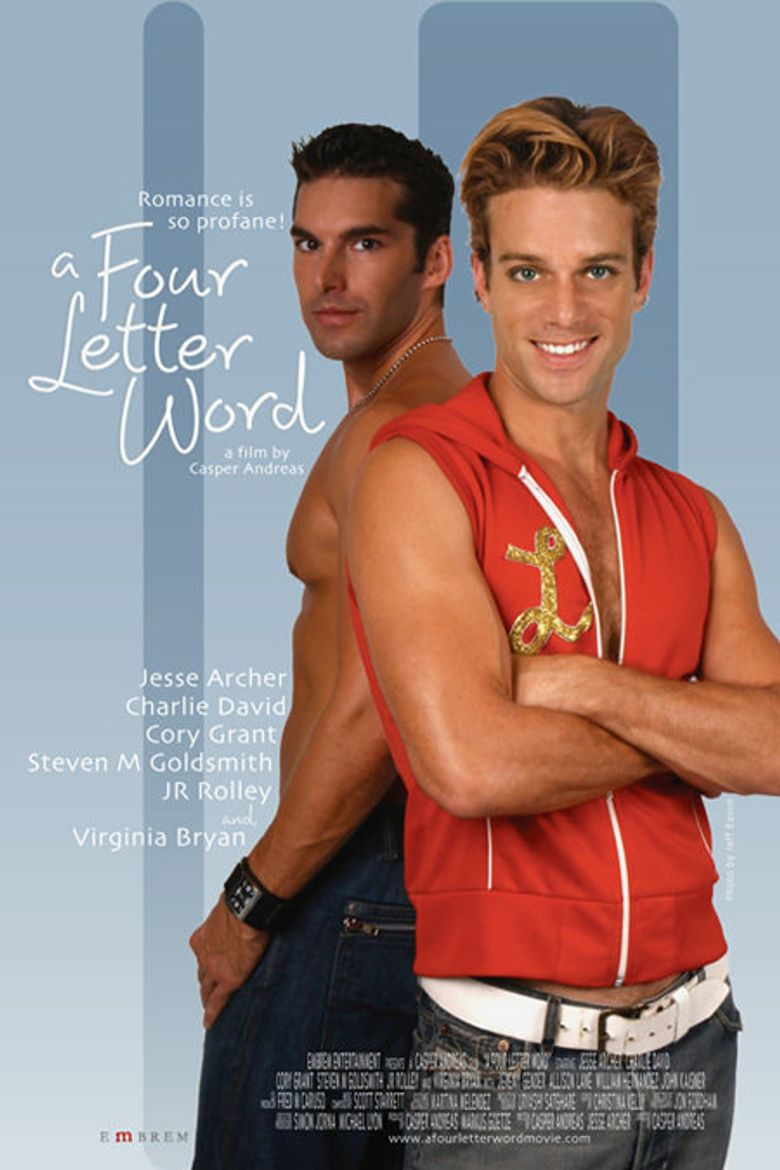 A Four Letter Word Poster