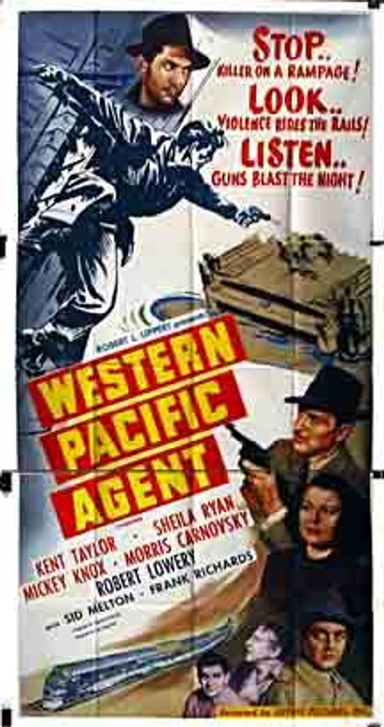 Western Pacific Agent Poster