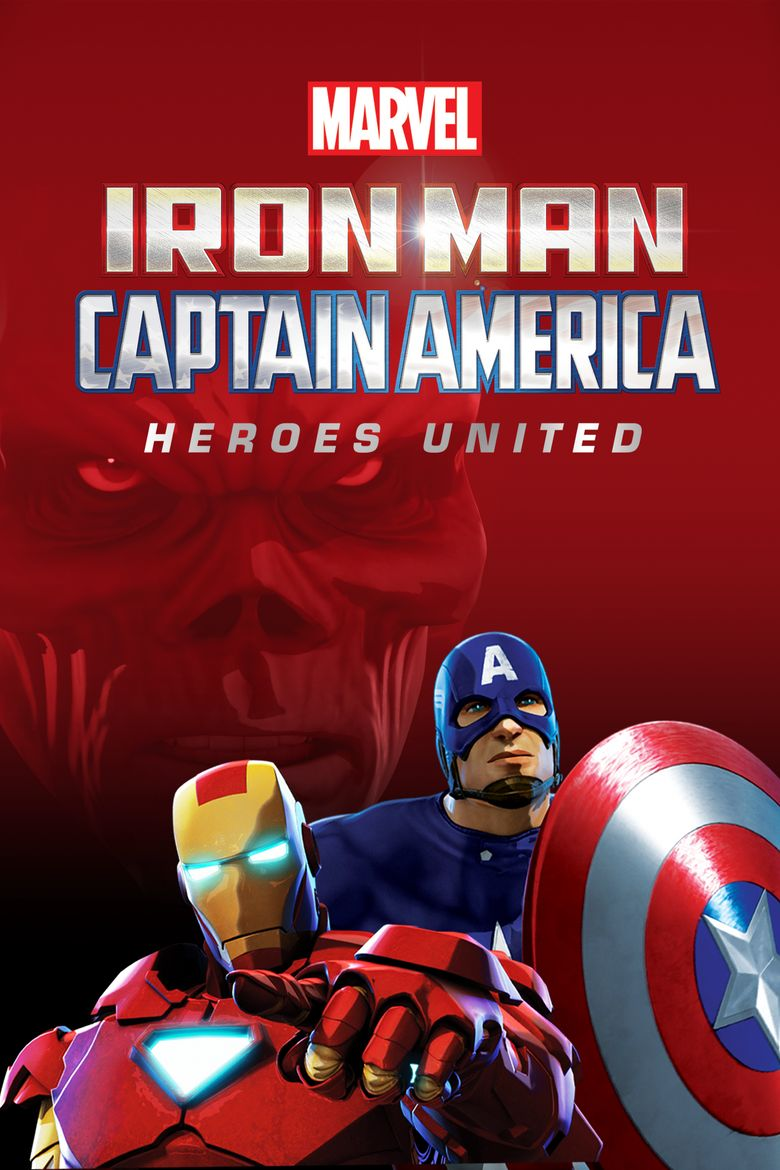 Iron Man & Captain America: Heroes United Poster