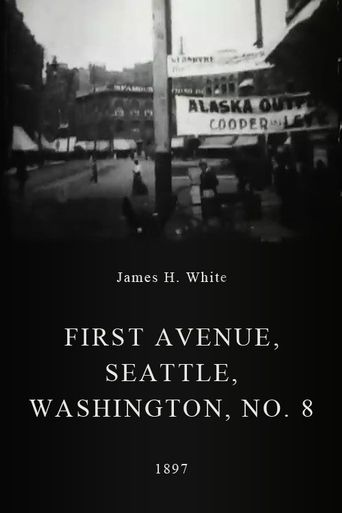First Avenue, Seattle, Washington, No. 8 Poster