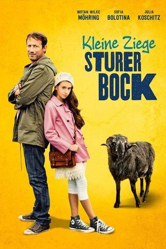 Kleine Ziege, sturer Bock Poster