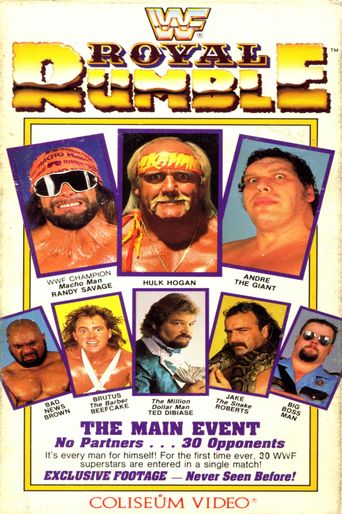 WWE Royal Rumble 1989 Poster