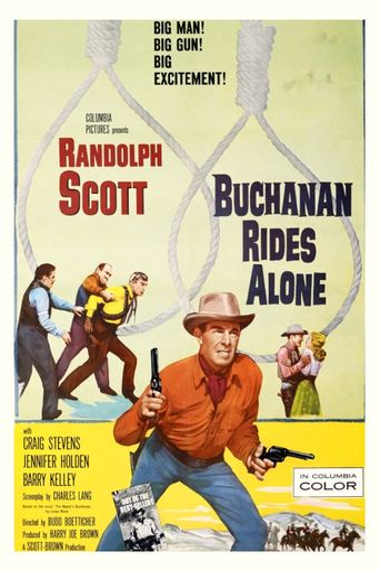 Buchanan Rides Alone Poster