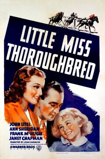 Little Miss Thoroughbred Poster