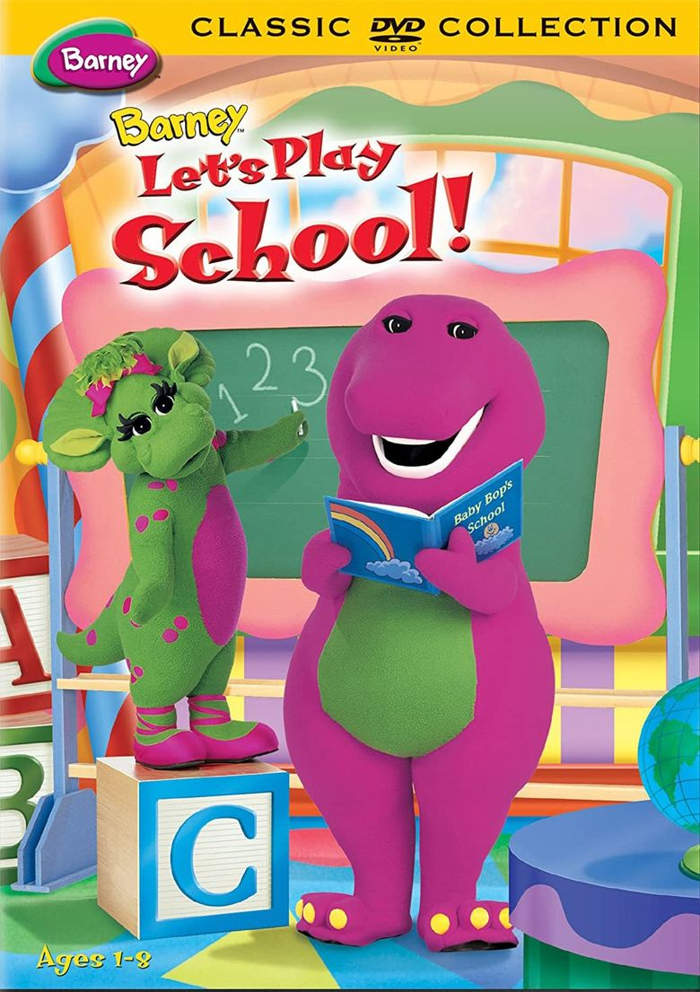 Watch Barney: Let's Play School!