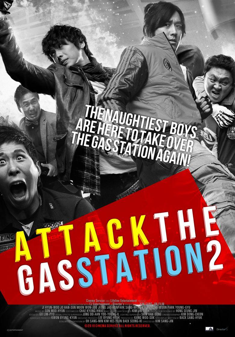 Attack the Gas Station 2 Poster