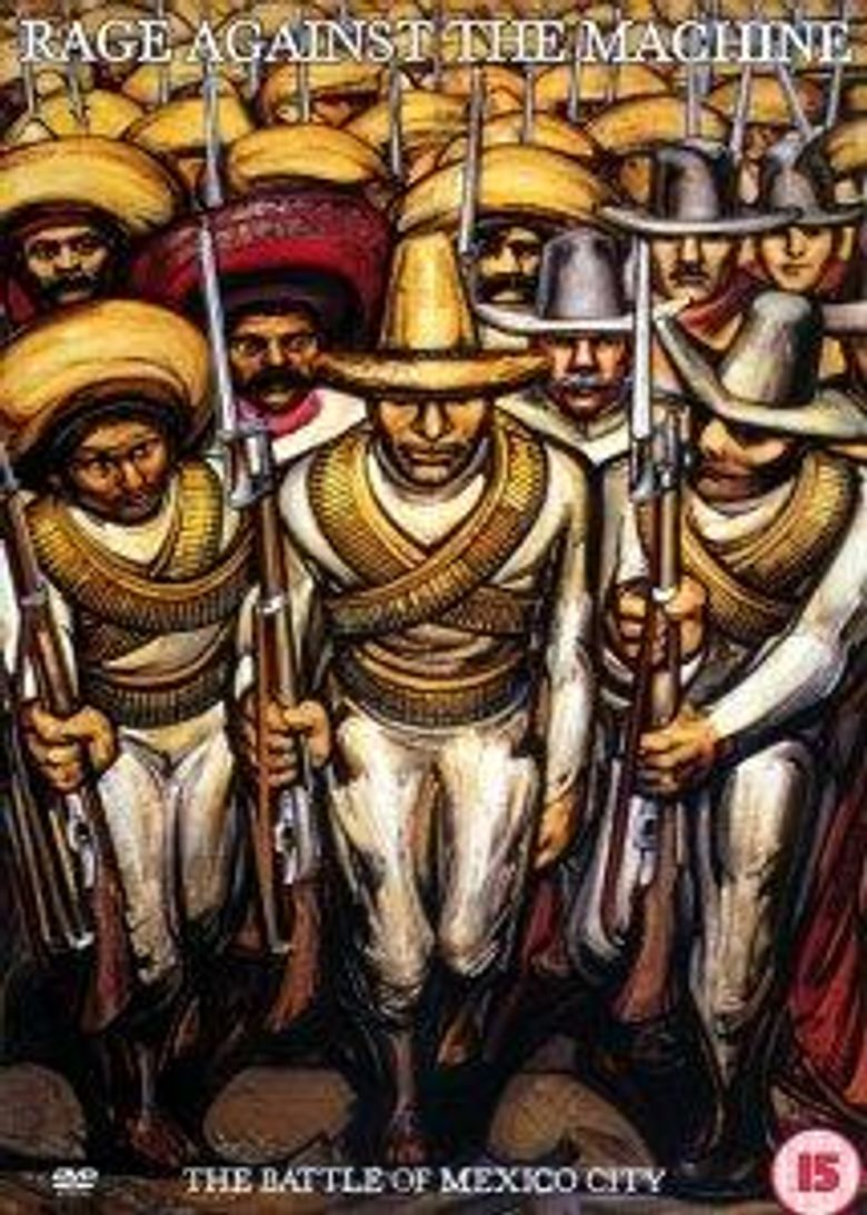 Rage Against The Machine: The Battle Of Mexico City Poster