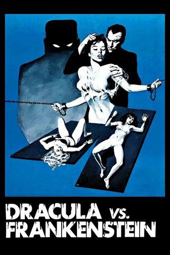 Dracula vs. Frankenstein Poster