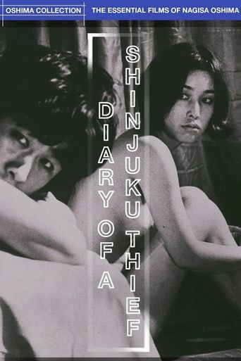 Diary of a Shinjuku Thief Poster