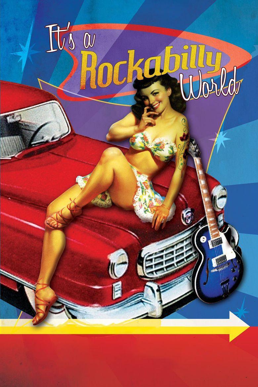 It's a Rockabilly World! Poster