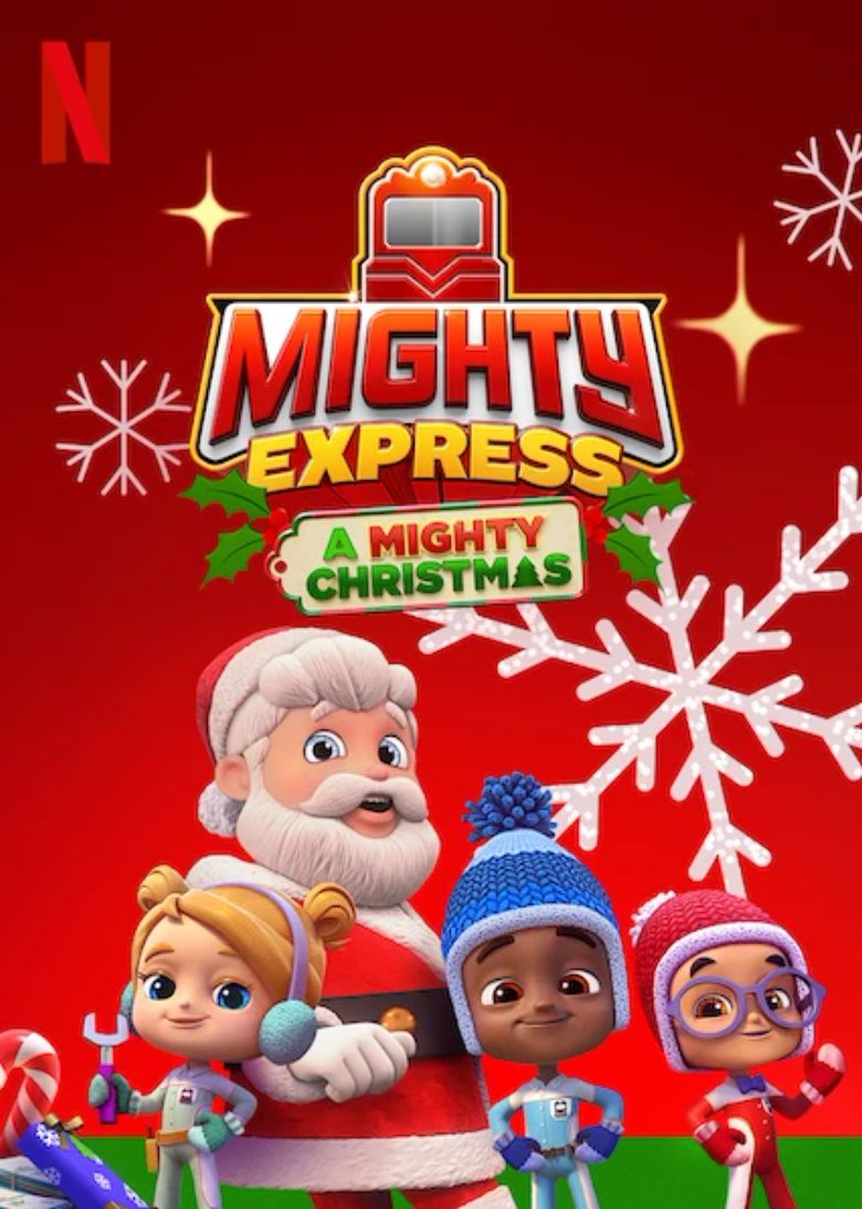 Mighty Express: A Mighty Christmas Poster