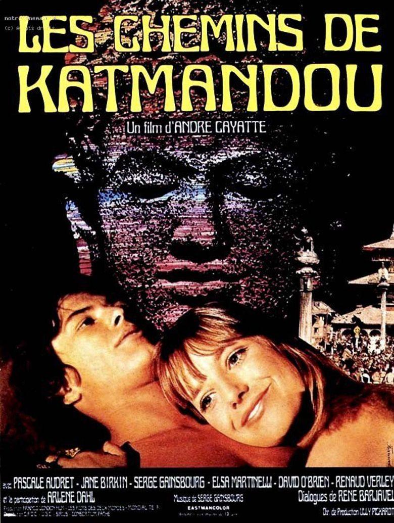 Les chemins de Katmandou Poster