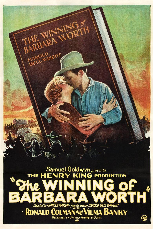 The Winning of Barbara Worth Poster