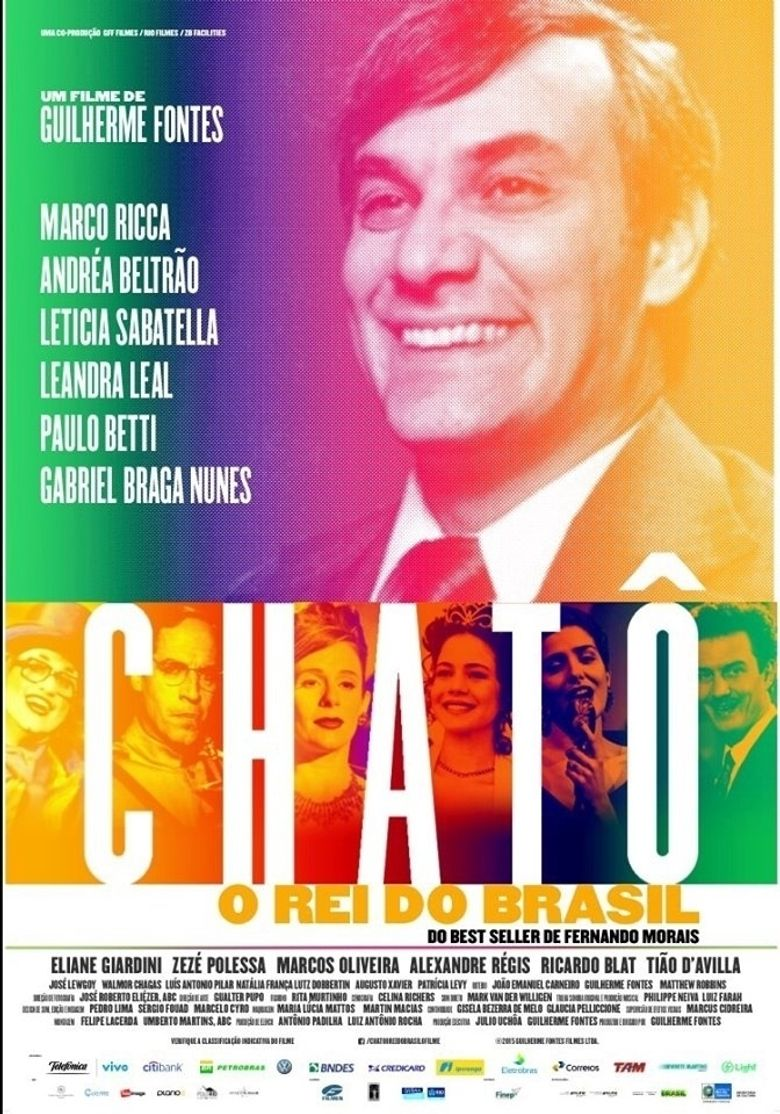 Chatô, The King of Brazil Poster